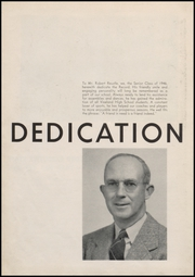 Page 10, 1946 Edition, Vineland High School - Record Yearbook (Vineland, NJ) online yearbook collection