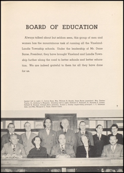 Page 11, 1949 Edition, Vineland High School - Record Yearbook (Vineland, NJ) online yearbook collection