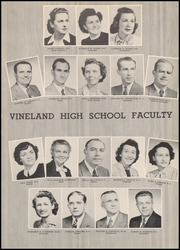 Page 13, 1949 Edition, Vineland High School - Record Yearbook (Vineland, NJ) online yearbook collection