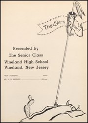 Page 5, 1949 Edition, Vineland High School - Record Yearbook (Vineland, NJ) online yearbook collection