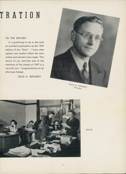 Page 15, 1947 Edition, Passaic High School - Echo Yearbook (Passaic, NJ) online yearbook collection