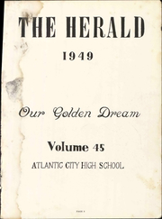 Page 11, 1949 Edition, Atlantic City High School - Herald Yearbook (Atlantic City, NJ) online yearbook collection