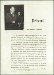 Page 10, 1957 Edition, Atlantic City High School - Herald Yearbook (Atlantic City, NJ) online yearbook collection
