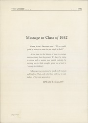 Page 8, 1932 Edition, Hackensack High School - Comet Yearbook (Hackensack, NJ) online yearbook collection
