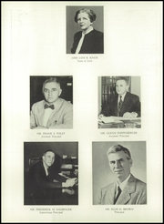 Page 10, 1950 Edition, Ridgewood High School - Arrow Yearbook (Ridgewood, NJ) online yearbook collection
