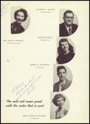 Page 15, 1949 Edition, East Side High School - Torch Yearbook (Newark, NJ) online yearbook collection