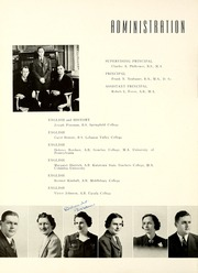 Page 12, 1940 Edition, Westfield High School - Weather Vane Yearbook (Westfield, NJ) online yearbook collection