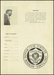 Page 5, 1946 Edition, Westfield High School - Weather Vane Yearbook (Westfield, NJ) online yearbook collection