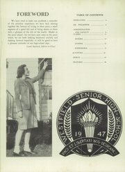 Page 5, 1947 Edition, Westfield High School - Weather Vane Yearbook (Westfield, NJ) online yearbook collection