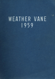 Page 1, 1959 Edition, Westfield High School - Weather Vane Yearbook (Westfield, NJ) online yearbook collection