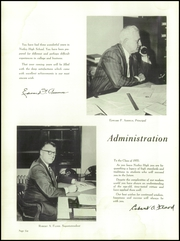 Page 10, 1955 Edition, Nutley High School - Exit Yearbook (Nutley, NJ) online yearbook collection
