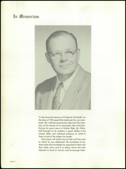 Page 10, 1958 Edition, Nutley High School - Exit Yearbook (Nutley, NJ) online yearbook collection