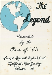 Page 5, 1963 Edition, Lenape High School - Legend Yearbook (Medford, NJ) online yearbook collection