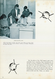 Page 6, 1963 Edition, Lenape High School - Legend Yearbook (Medford, NJ) online yearbook collection