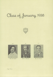 Page 7, 1938 Edition, Union Hill High School - Orange and Blue Yearbook (Union City, NJ) online yearbook collection