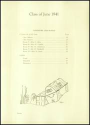 Page 15, 1941 Edition, Union Hill High School - Orange and Blue Yearbook (Union City, NJ) online yearbook collection
