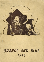 Page 1, 1943 Edition, Union Hill High School - Orange and Blue Yearbook (Union City, NJ) online yearbook collection