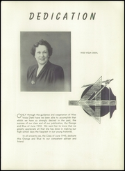 Page 9, 1943 Edition, Union Hill High School - Orange and Blue Yearbook (Union City, NJ) online yearbook collection