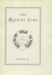Page 9, 1926 Edition, Roxbury High School - Echo Yearbook (Succasunna, NJ) online yearbook collection