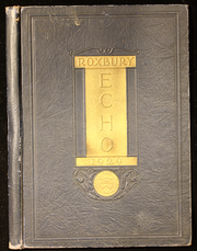 Page 1, 1929 Edition, Roxbury High School - Echo Yearbook (Succasunna, NJ) online yearbook collection