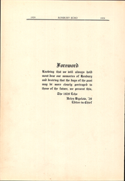 Page 10, 1929 Edition, Roxbury High School - Echo Yearbook (Succasunna, NJ) online yearbook collection