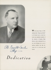 Page 12, 1937 Edition, Camden High School - Purple and Gold Yearbook (Camden, NJ) online yearbook collection