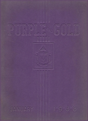 Page 1, 1938 Edition, Camden High School - Purple and Gold Yearbook (Camden, NJ) online yearbook collection