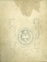 Page 1, 1952 Edition, Camden High School - Purple and Gold Yearbook (Camden, NJ) online yearbook collection