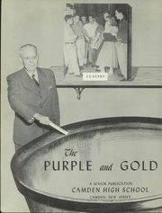 Page 4, 1952 Edition, Camden High School - Purple and Gold Yearbook (Camden, NJ) online yearbook collection