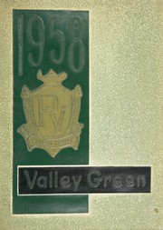 Page 1, 1958 Edition, Passaic Valley Regional High School - Green Yearbook (Little Falls, NJ) online yearbook collection