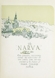 Page 7, 1930 Edition, Park University - Narva Yearbook (Parkville, MO) online yearbook collection