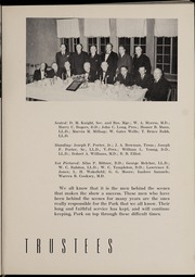 Page 17, 1941 Edition, Park University - Narva Yearbook (Parkville, MO) online yearbook collection