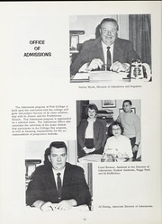 Page 16, 1963 Edition, Park University - Narva Yearbook (Parkville, MO) online yearbook collection