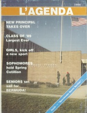1986 Edition, Overbrook High School - L Agenda Yearbook (Pine Hill, NJ)