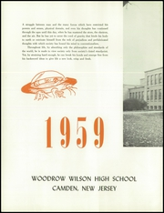 Page 6, 1959 Edition, Woodrow Wilson High School - Prexy Yearbook (Camden, NJ) online yearbook collection