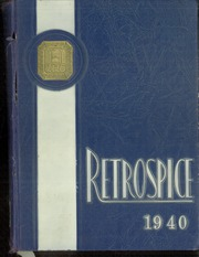 Page 1, 1940 Edition, Hamilton High School West - Retrospect Yearbook (Hamilton, NJ) online yearbook collection