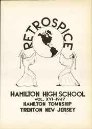 Page 7, 1947 Edition, Hamilton High School West - Retrospect Yearbook (Hamilton, NJ) online yearbook collection