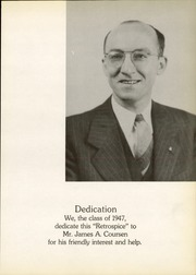 Page 9, 1947 Edition, Hamilton High School West - Retrospect Yearbook (Hamilton, NJ) online yearbook collection