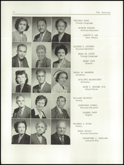 Page 14, 1950 Edition, New Brunswick High School - Advocate Yearbook (New Brunswick, NJ) online yearbook collection