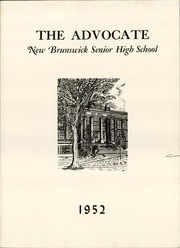 Page 5, 1952 Edition, New Brunswick High School - Advocate Yearbook (New Brunswick, NJ) online yearbook collection