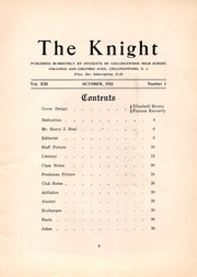 Page 7, 1922 Edition, Collingswood High School - Knight Yearbook (Collingswood, NJ) online yearbook collection