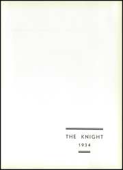 Page 7, 1934 Edition, Collingswood High School - Knight Yearbook (Collingswood, NJ) online yearbook collection