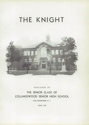 Page 7, 1935 Edition, Collingswood High School - Knight Yearbook (Collingswood, NJ) online yearbook collection