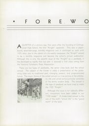 Page 8, 1935 Edition, Collingswood High School - Knight Yearbook (Collingswood, NJ) online yearbook collection