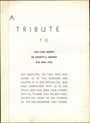 Page 12, 1937 Edition, Collingswood High School - Knight Yearbook (Collingswood, NJ) online yearbook collection
