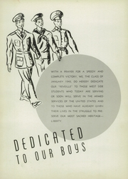 Page 8, 1943 Edition, West Side High School - Yearbook (Newark, NJ) online yearbook collection