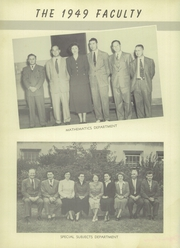 Page 10, 1949 Edition, West Side High School - Yearbook (Newark, NJ) online yearbook collection