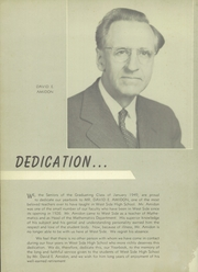Page 6, 1949 Edition, West Side High School - Yearbook (Newark, NJ) online yearbook collection