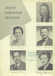 Page 9, 1949 Edition, West Side High School - Yearbook (Newark, NJ) online yearbook collection