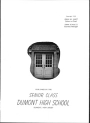 Page 7, 1940 Edition, Dumont High School - Reveries Yearbook (Dumont, NJ) online yearbook collection